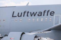 Luftwaffe german Airforce logo on an aircraft from german airforce Stock Photos