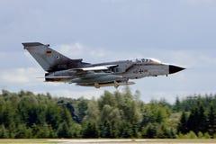 Luftwaffe tromb Arkivbild