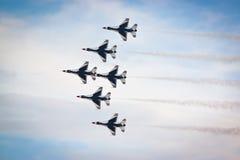Luftwaffe Vereinigter Staaten Thunderbirds Lizenzfreie Stockfotografie