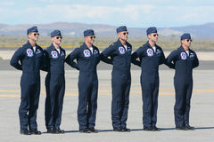 Luftwaffe Vereinigter Staaten Thunderbirdspiloten Lizenzfreie Stockfotografie