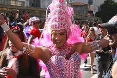 Luftwiderstand-Königin auf der homosexuellen Parade in Sao-Paulo Lizenzfreie Stockfotos