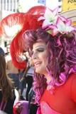 Luftwiderstand-Königin auf der homosexuellen Parade in Sao-Paulo Lizenzfreies Stockfoto
