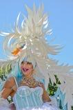 Luftwiderstand-Königin an der Vancouver-Stolz-Parade Stockfoto