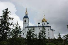 Luga, τον Ιούλιο του 2014 της Ρωσίας -03: Cheremenetsky John το μοναστήρι θεολόγων Στοκ εικόνες με δικαίωμα ελεύθερης χρήσης