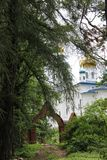 Luga, τον Ιούλιο του 2014 της Ρωσίας -03: Cheremenetsky John το μοναστήρι θεολόγων Στοκ Εικόνες