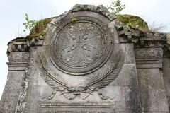 Luga, τον Ιούλιο του 2014 της Ρωσίας -03: Cheremenetsky John crypt μοναστηριών θεολόγων Στοκ Φωτογραφίες