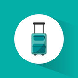 Lugagge suitcase travel vacations Royalty Free Stock Photography