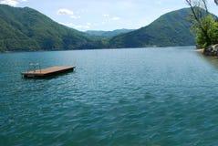 Luganer海意大利第01部分 免版税图库摄影