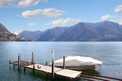 lugano Швейцария стоковое изображение