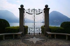 Lugano, Швейцария Стоковая Фотография RF