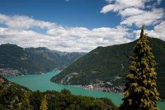 Lugano Stock Afbeelding