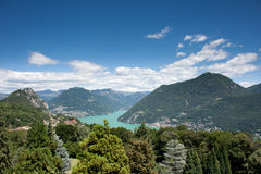 Lugano Royalty Free Stock Photography