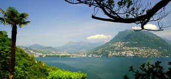 Lugano Royalty Free Stock Photo