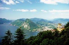 Lugano Imagens de Stock