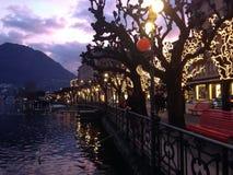 Lugano arkivfoto