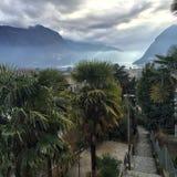 Lugano Lizenzfreies Stockfoto