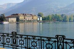 Lugano en Suiza Fotografía de archivo