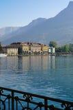Lugano en Suiza Imagen de archivo libre de regalías