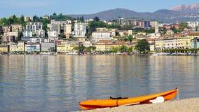 Lugano en Suiza Fotografía de archivo libre de regalías