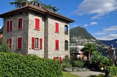 Lugano house Royalty Free Stock Photography