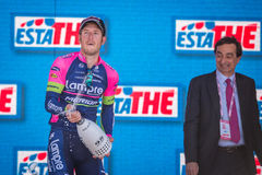 Lugano, Italia 27 May 2015; Modolo on the podium Stock Image