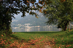 Lugano, Italy Stock Image
