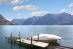 Lugano - la Suisse Image stock