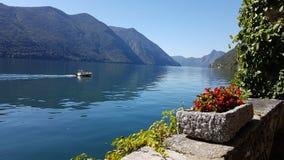 Lugano Lake Royalty Free Stock Photos