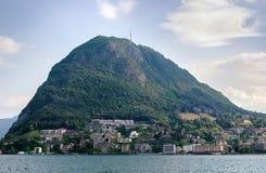 Lugano lake, Switzerland Royalty Free Stock Photography