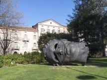 Lugano, monument Eros Blindfolded Stock Image