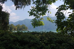 Lugano Mountain View Photo stock
