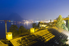 Lugano stock photography