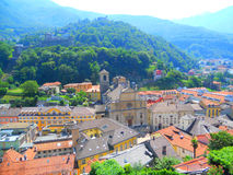 Lugano Royalty Free Stock Image