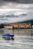 Lugano stad   stock foto