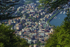 Lugano, Suisse Image stock