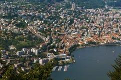 Lugano, Suisse Photo libre de droits