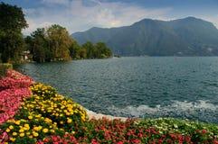 Lugano-Suiza Fotografía de archivo