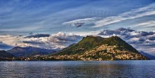 Lugano Svizzera Fotografie Stock Libere da Diritti
