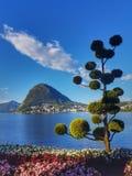 Lugano, Switerzland Fotografie Stock Libere da Diritti