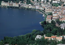 Lugano, Switzerland Stock Images