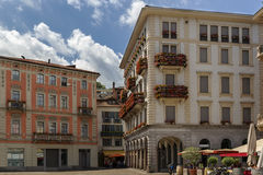 Lugano, Switzerland Royalty Free Stock Images