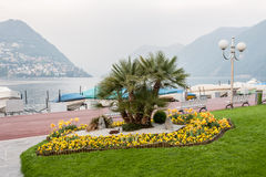 Lugano Switzerland Stock Image