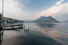 Lugano Switzerland Royalty Free Stock Photography