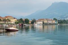 Lake Lugano, Lugano, Ticino, Switzerland, Europe Royalty Free Stock Photo