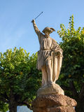 Lugano, Switzerland. Statue of William Tell Royalty Free Stock Photography