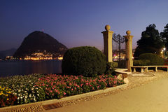 Lugano, Switzerland Stock Photography