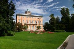 Lugano Villa Ciani stock foto's