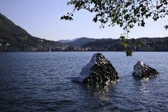 Lugano immagine stock libera da diritti