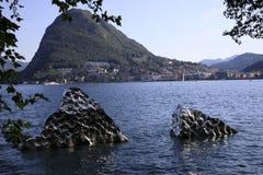 Lugano fotografia stock