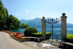 Lugano in Zwitserland royalty-vrije stock foto